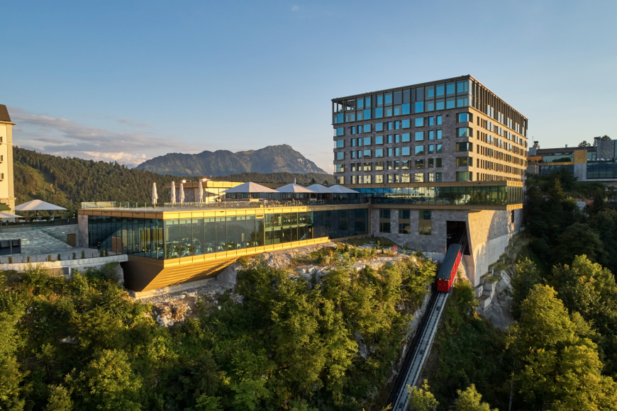 Отель Bürgenstock Hotel & Alpine SPA 5*