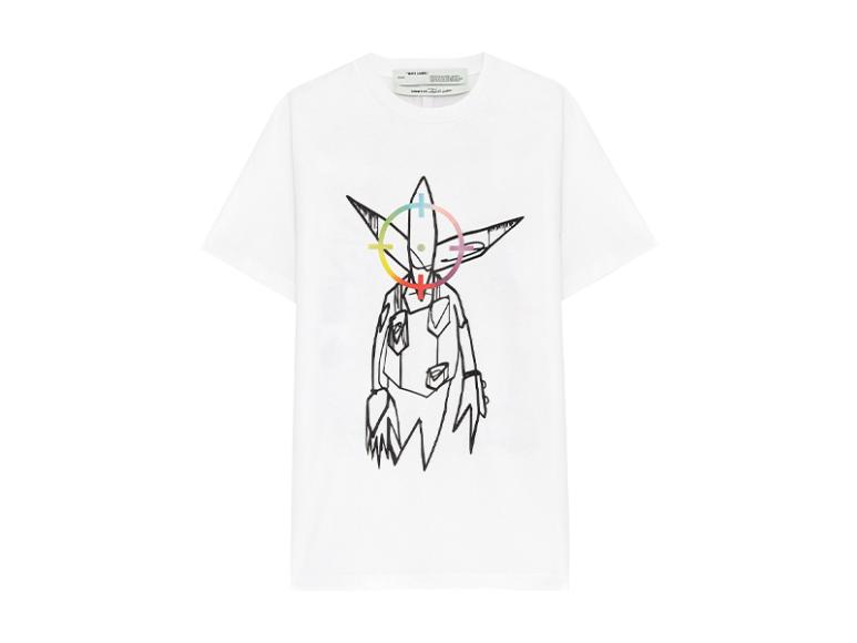 Мужская футболка Off-White X Futura, 14 760 руб. с учетом скидки (КМ20)
