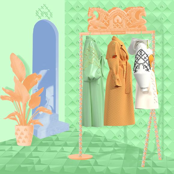 Виртуальная коллекция одежды отAlena Akhmadullina