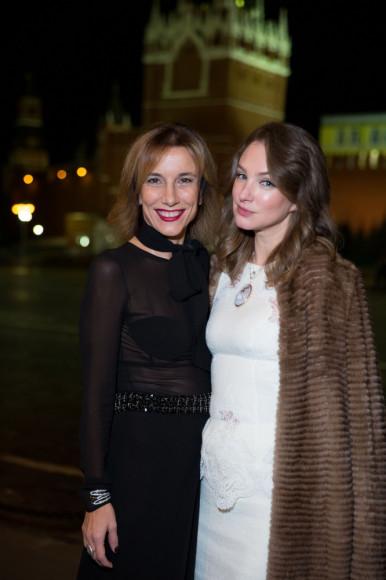 Сильвия Гризли (grazia italia) и Алена Пенева
