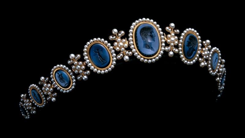 Тиара, принадлежавшая королеве Неаполя Каролине Мюрат, 1810