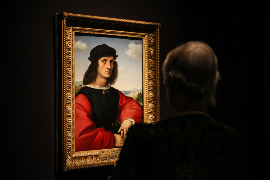 Рафаэль Санти. «Портрет Аньоло Дони»