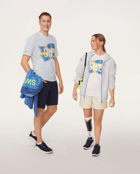 Форма Uniqlo для сборной Швеции