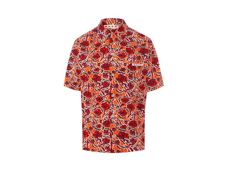 Женская рубашка Marni, 42 700 руб. (tsum.ru)