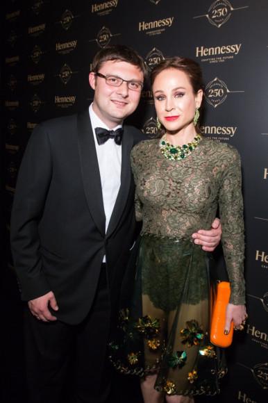 Василий Церетели (ММОМА) с супругой Кирой Сакарелло