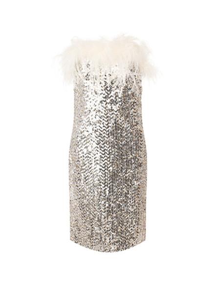 Платье Saint Laurent, 440 000 руб. (tsum.ru)