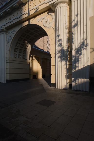 Станция метро «Смоленская»