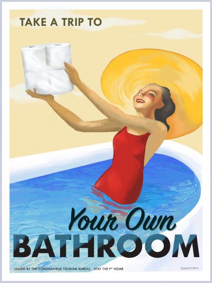 «Отправляйтесь в путешествие по собственной ванной»