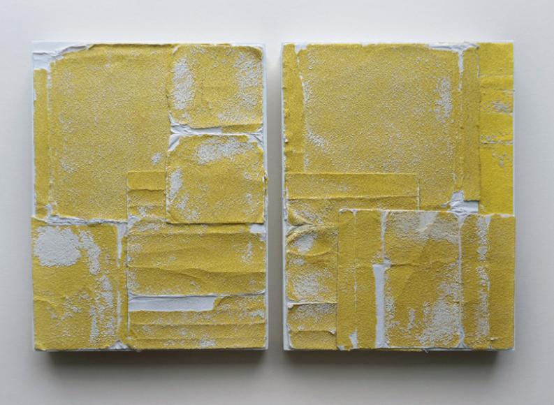 Влатка Хорват (Vlatka Horvat). «Complete Coverage (Yellow)», 2014 (Галерея Annex14)