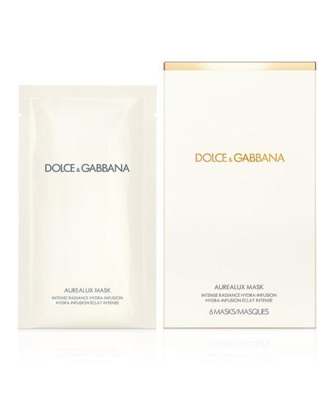 Маска Aurealux, Dolce & Gabbana соединяет в себе силу одноименной сыворотки и хитрого нетканого материала, состоящего из гидрофильных и гидрофобных волокон. Работая в паре, они делают кожу более мягкой, упругой и сияющей спустя каких-то десять минут.