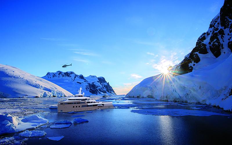 Проектные изображения яхтыLa Datcha Expedition Yacht 77