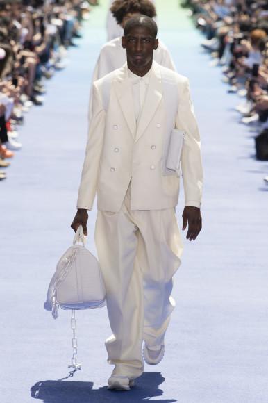 Мужская коллекция Louis Vuitton в исполнении Вирджила Абло