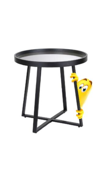 Кофейный столик с зеркальной столешницей Benigni, Berg