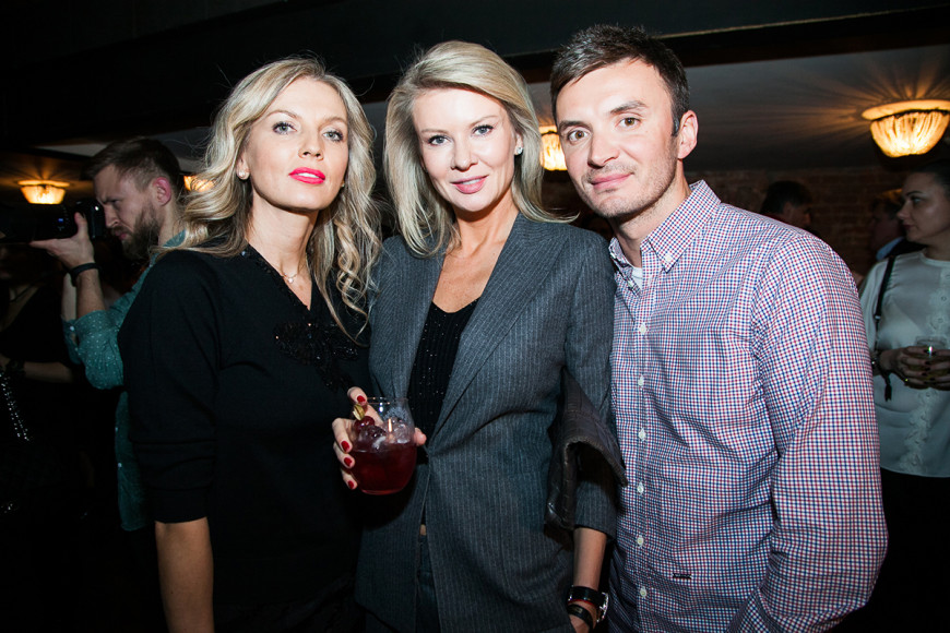 Анастасия Рагозина, Виктория Борисевич и Евгений Заболотный
