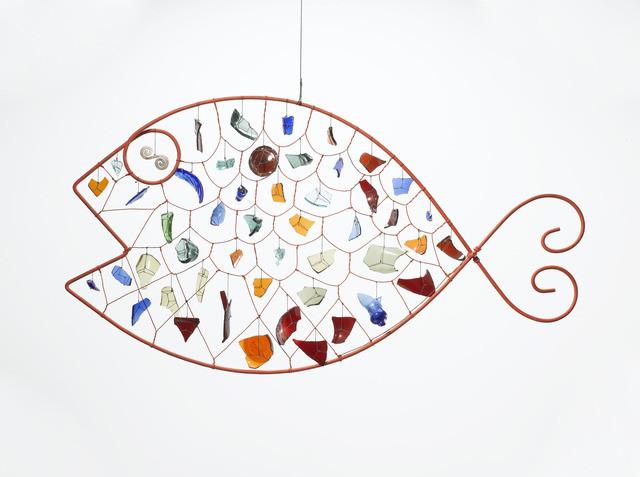 Александр Колдер. «Glass Fish», 1955