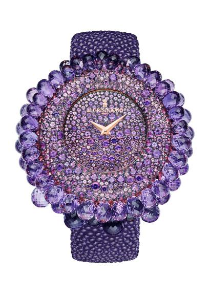 Часы Amethysts, De Grisogono