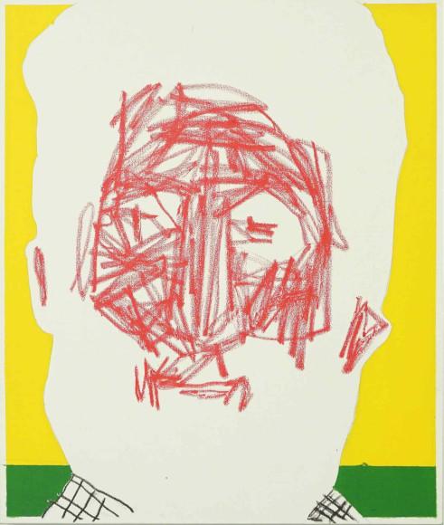 «Старый виноградарь», 2020, холст, масляная пастель, акрил, 65х55 см, 35000 руб.