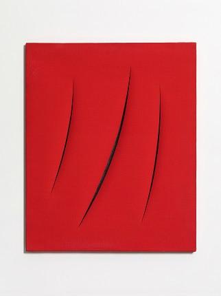 Лучо Фонтана, «Пространственный концепт. Ожидание», 1961