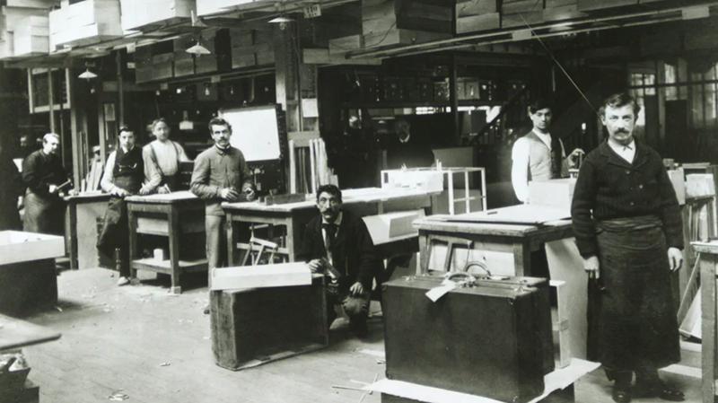 Мастерская Louis Vuitton в Аньере