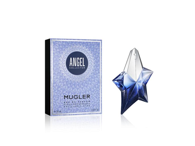 Коллекционное лимитированное издание аромата Angel в новогоднем флаконе, Mugler