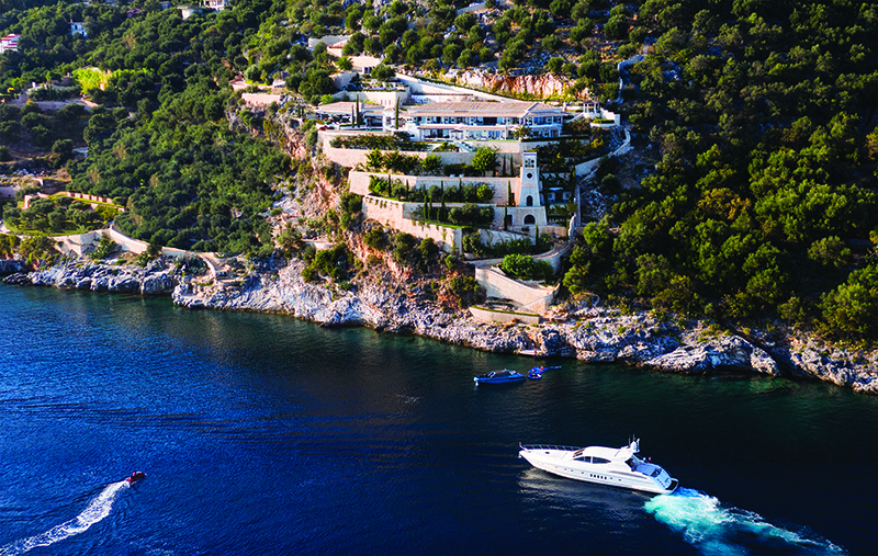 Вилла Ultima Corfu и яхтаUltima Beach