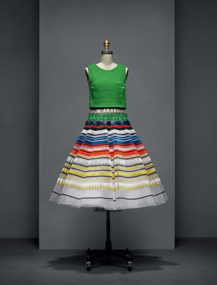 Раф Симонс, платье Dior Couture, весна-лето 2015
