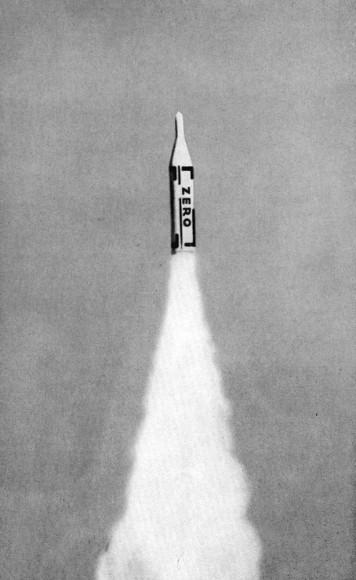 Хайнц Мак. Иллюстрация из журнала группы «Zero», 1961