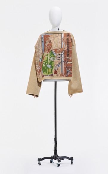 Работа Пола Кадмуса в мужской коллекции Loewe, весна-лето 2021