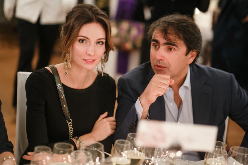 Игорь Акопов, девелопер, с супругой Милой Акоповой
