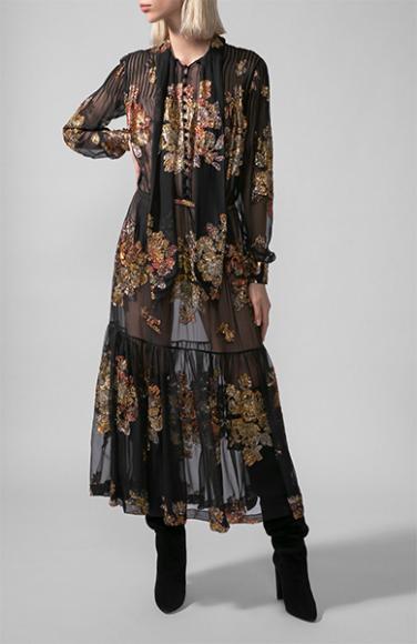 Платье Saint Laurent, 699 500 руб. (ЦУМ)