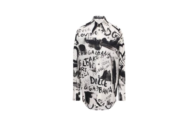 Блуза Dolce & Gabbana, 75 850 руб. (Кутузовский проспект)