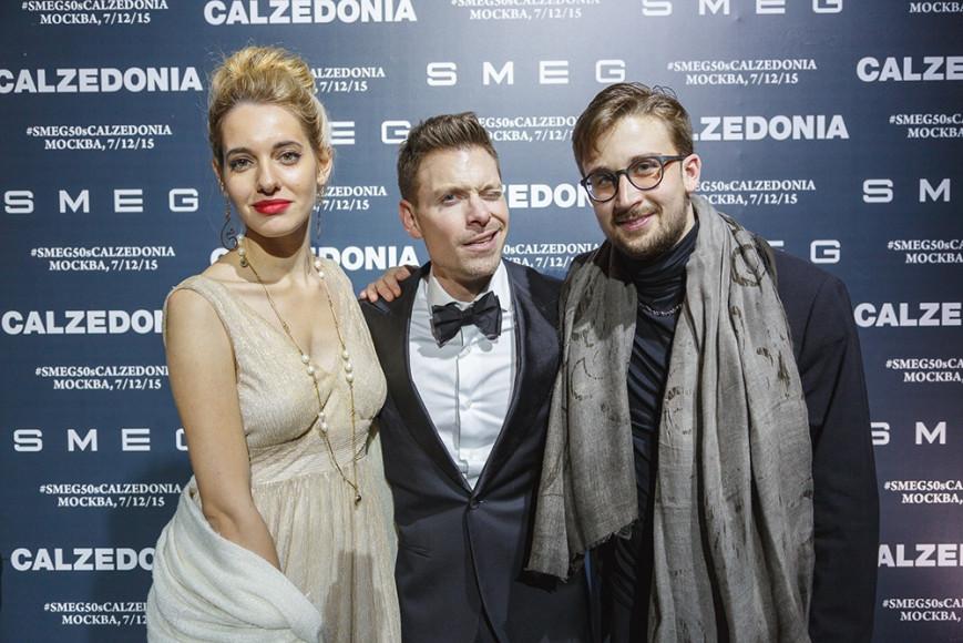 Антонио Алицци (Calzedonia Russia), Лоренцо Дзанарди и Сара Прандин (Gaga Symphony Orchestra)