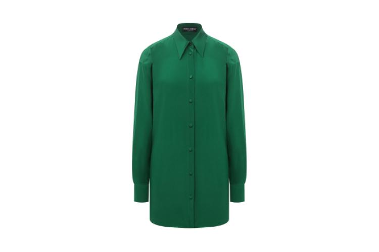 Шелковая блузка, Dolce & Gabbana, 79950 руб.
