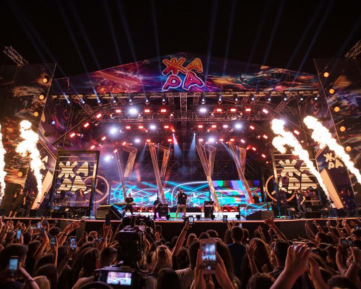 Выступление Тимати на фестивале «Жара»— 2019