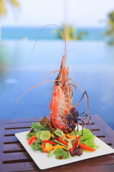 Морепродукты в ресторане(ANI Private Resorts Sri Lanka)