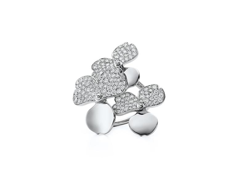 Кольцо Tiffany Paper Flower, Tiffany & Co