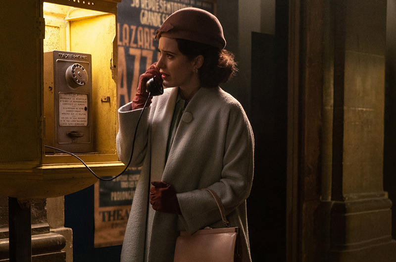 Кадр из сериала «Удивительная миссис Мейзел»