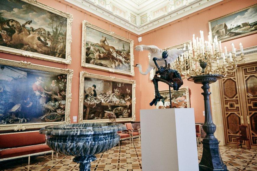Выставка Яна Фабра в Эрмитаже, Санкт-Питербург