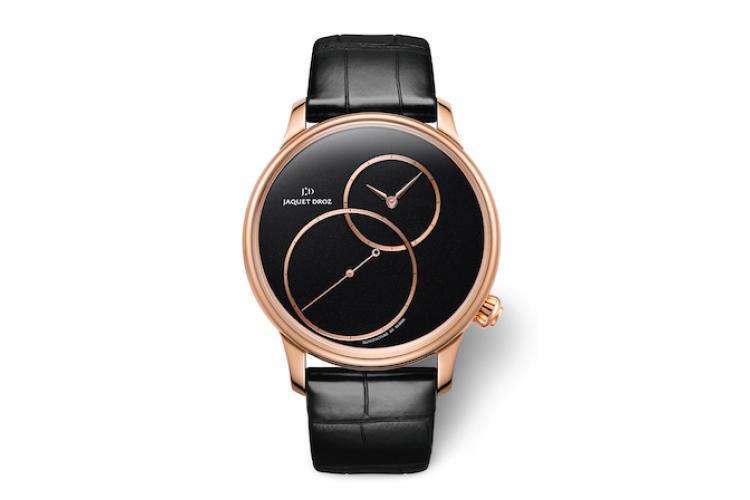 Часы Grande Seconde Off-Centered Black Jade, Jaquet Droz