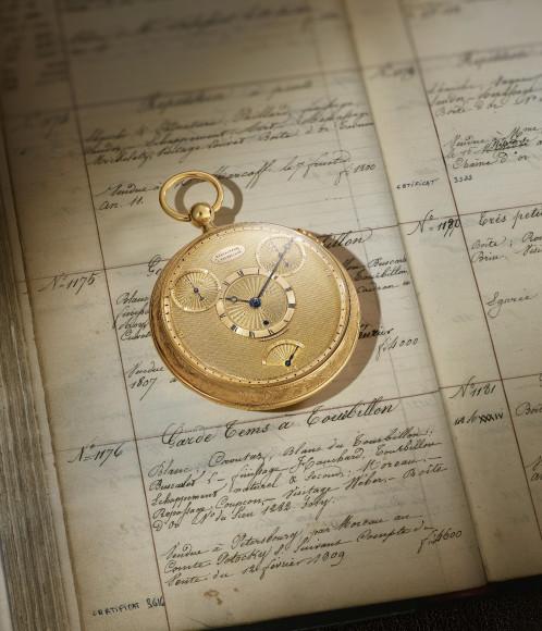 Карманные часы с турбийоном 1176, Breguet, 1802-1809 годы (в закрытом виде)