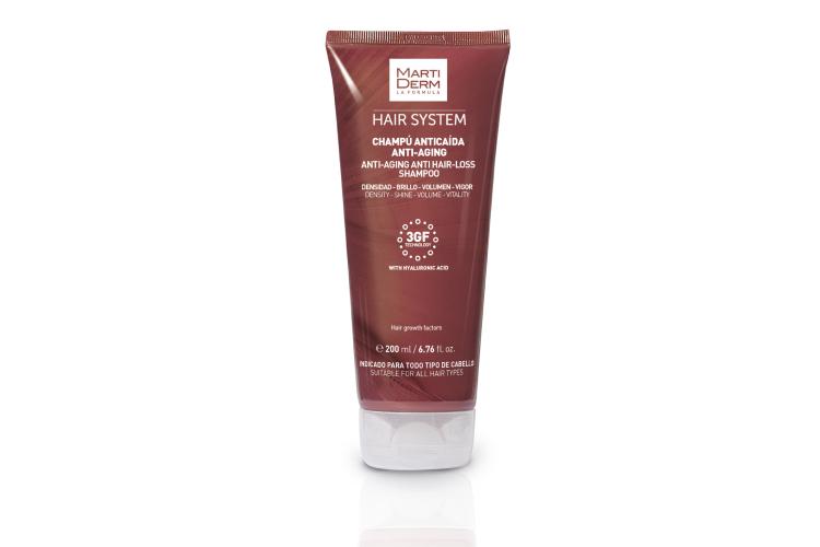Шампунь против выпадения волос «Анти-эйдж», Hair System, MartDerm
