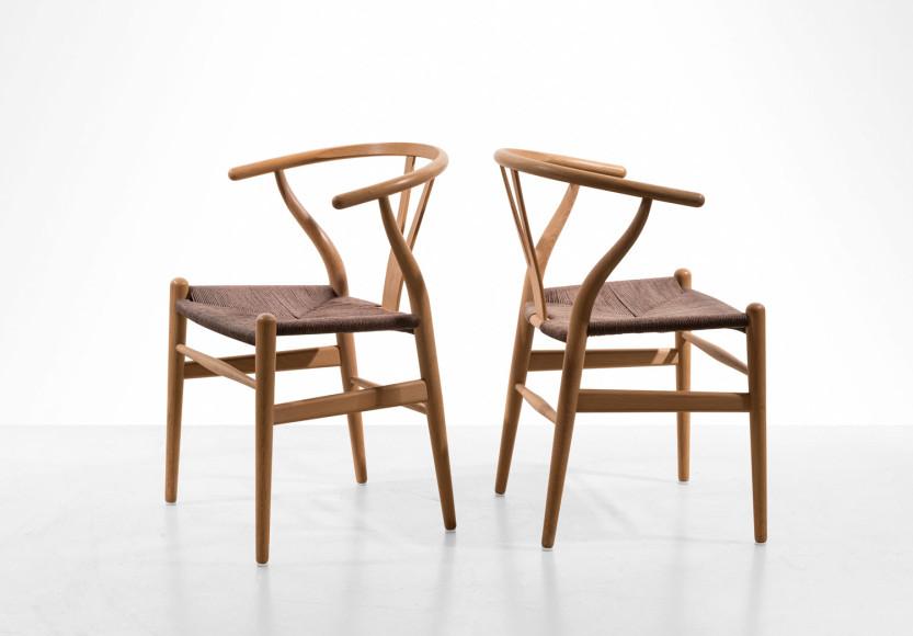 Ханс Вегнер, стулья Wishbone, 1949