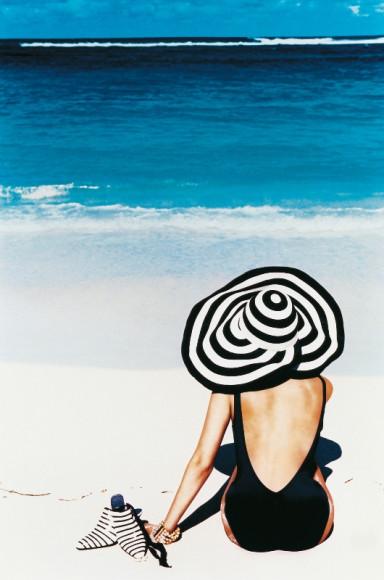 Образ Christian Dior, съемка дляVogue,Маврикий, 1996
