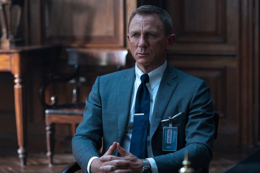 Джеймс Бонд в костюме Tom Ford