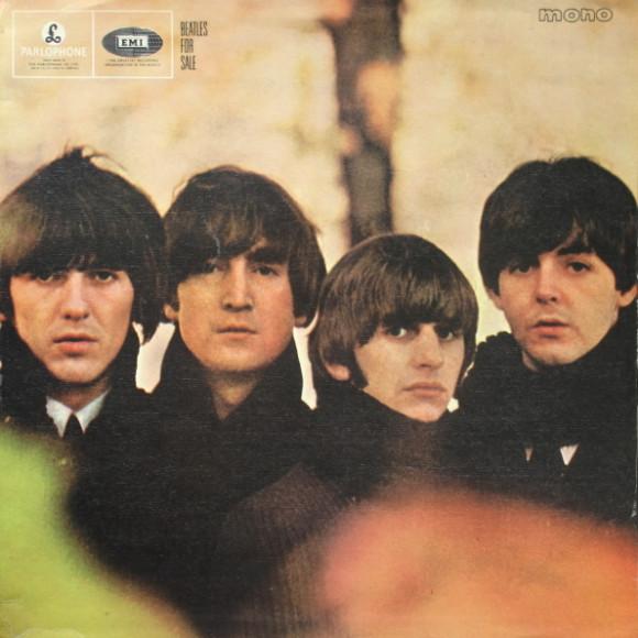 Винтажная пластинка The Beatles