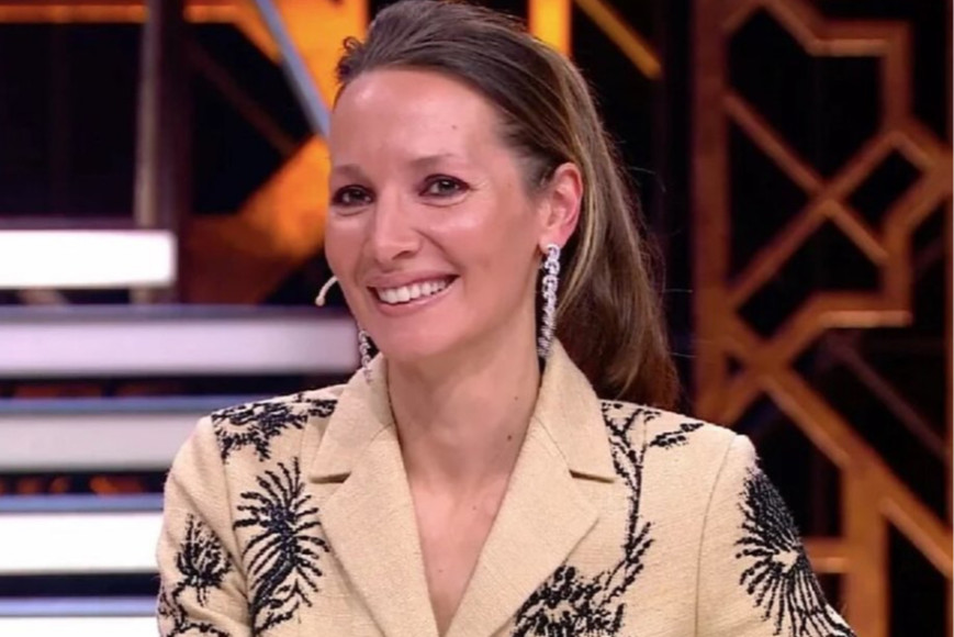 Дарья Златопольская в костюме Dior и серьгах Graff