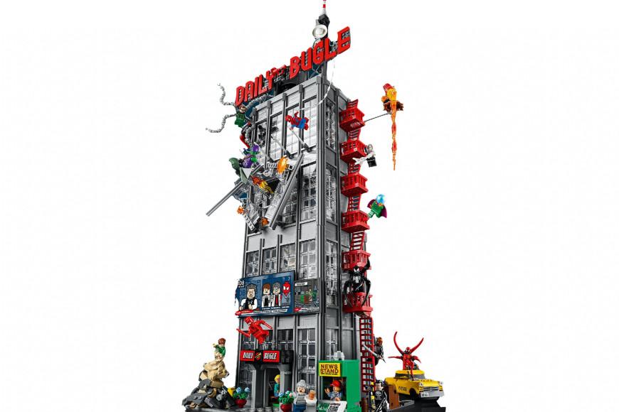 Набор Lego со зданием редакции газеты «Дейли Бьюгл»