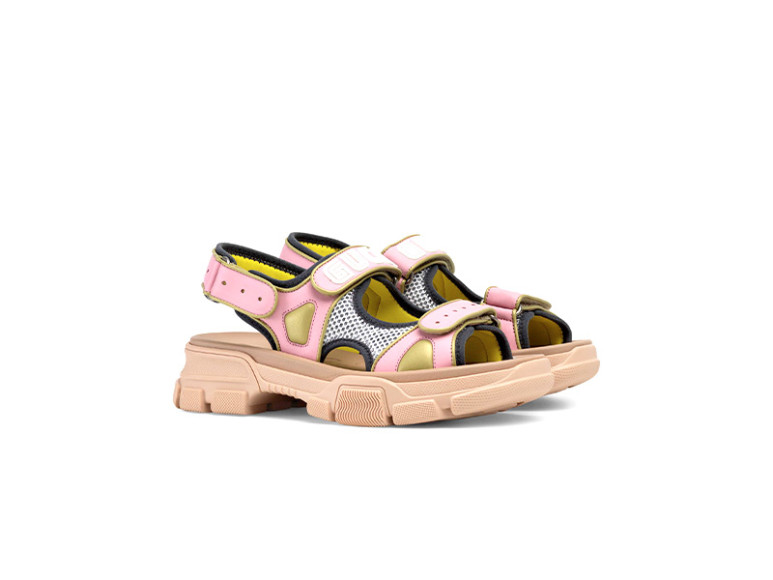 Женские сандалии Gucci, 57 200 руб. (Gucci)