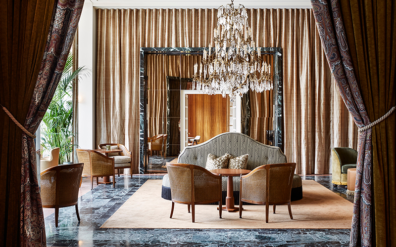 Отель De L'Europe Amsterdam, лобби