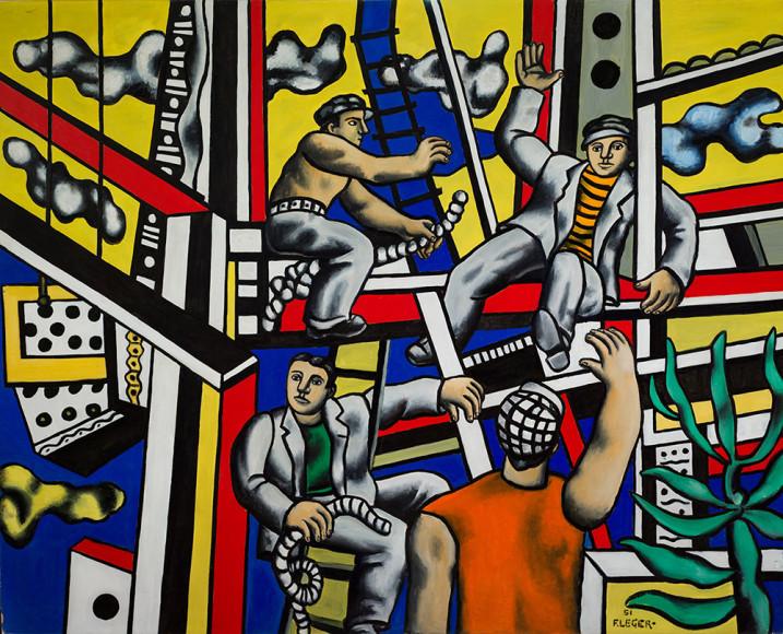 Фернан Леже. «Строители», 1951